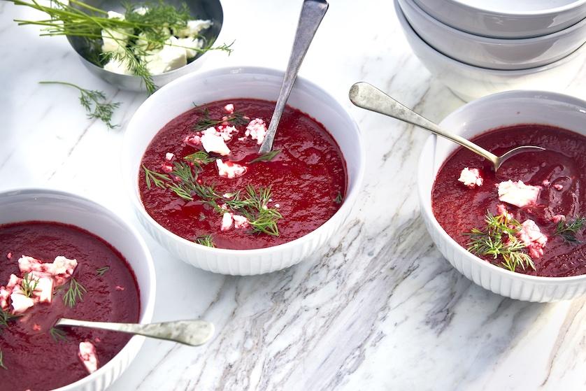 Culinair hoogstandje: overheerlijke bieten-wortelsoep