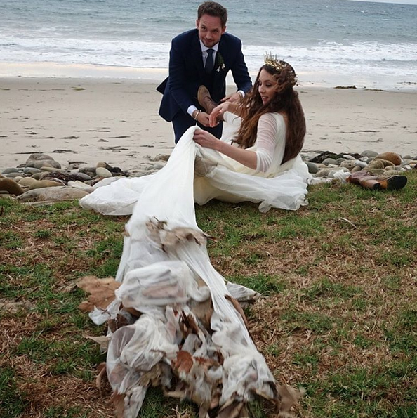 Hoera! 'PLL'-actrice Troian Bellisario is getrouwd!