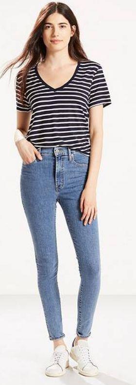 jeans hoog