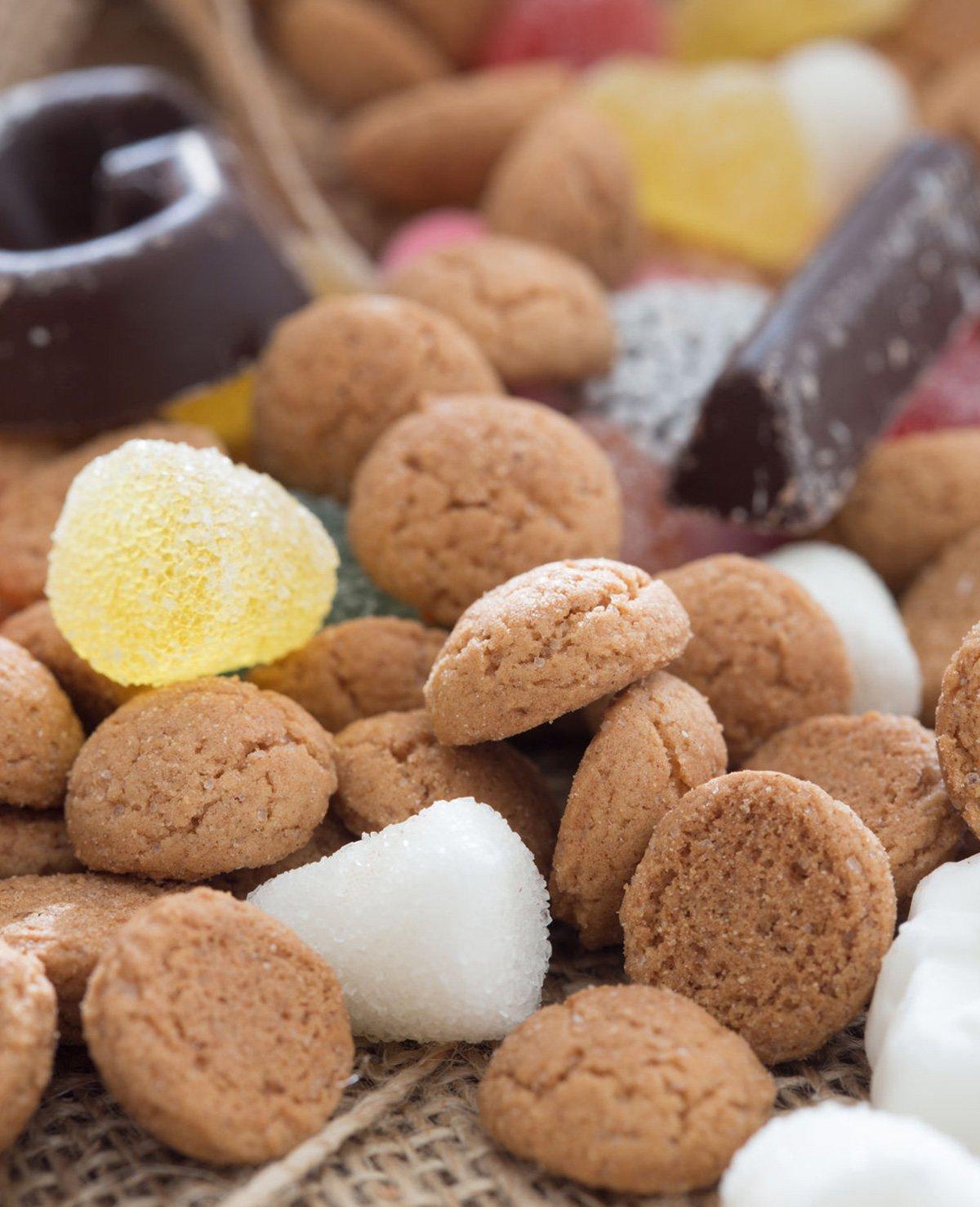 Calorieën in Sinterklaas snoepgoed