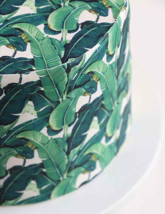 WOW: Deze taart gemaakt van iconisch behang is bijna te mooi om op te eten