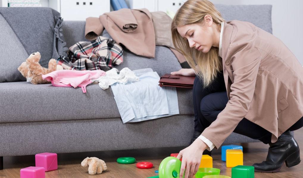 Bewezen: vrouwen ruimen vaker rommel op dan mannen