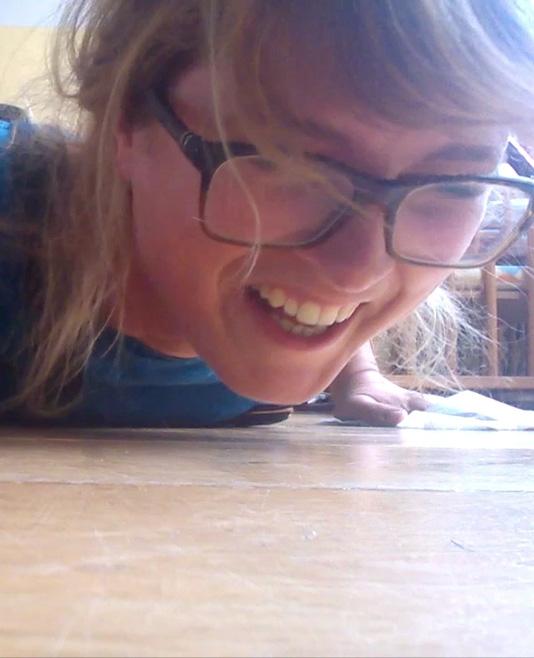 Video Sue: Schoonmaakoefeningen
