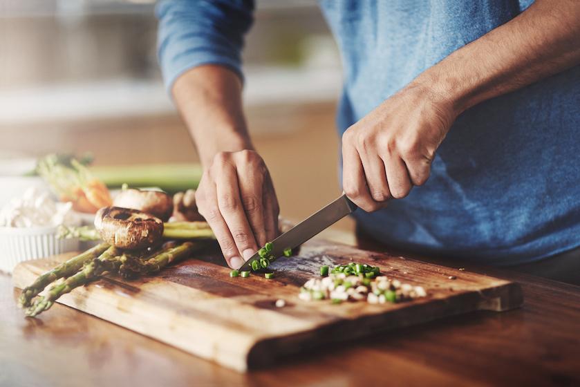 Recept: geroosterde groenten en vis uit de oven