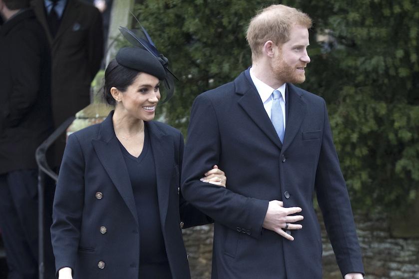 Koninklijke familie reageert op gelekte babynaam Meghan en Harry