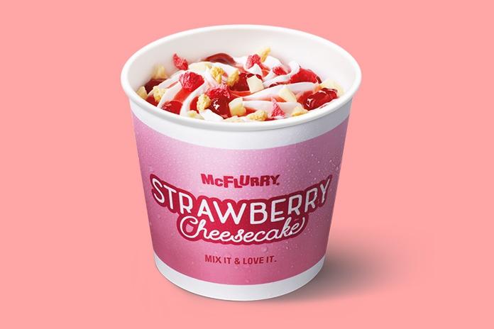 Yum! McDonald's komt met een (superlekkere!) nieuwe McFlurry-smaak