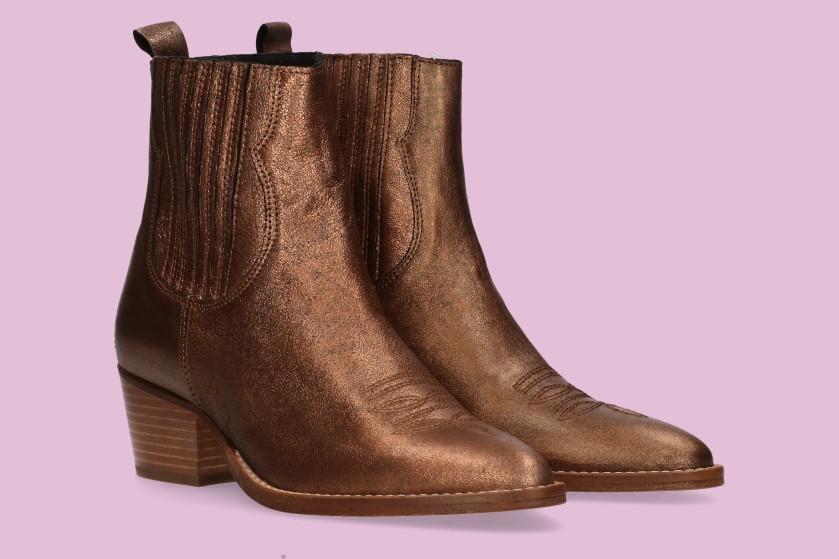 Flair's Adventskalender #9: Win 2x bronzen boots van Van Dalen Schoenen