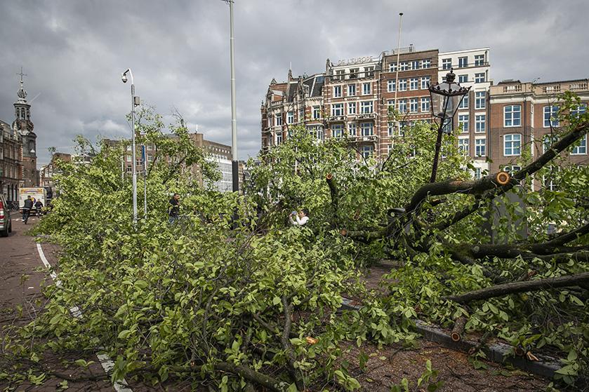 Wat een ravage! 9 x de ergste schade van de zomerstorm in beeld