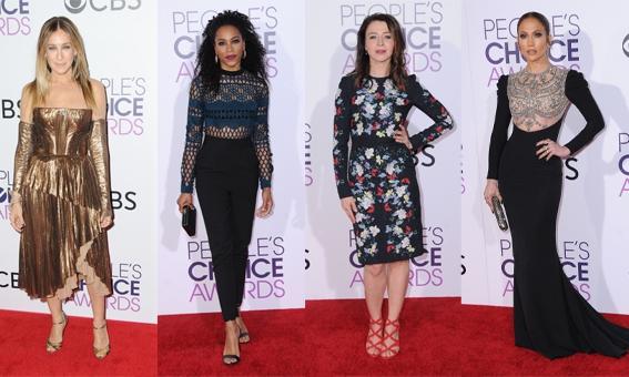 ZIEN: De cast van Grey's Anatomy schittert op de rode loper van de People's Choice Awards 2017