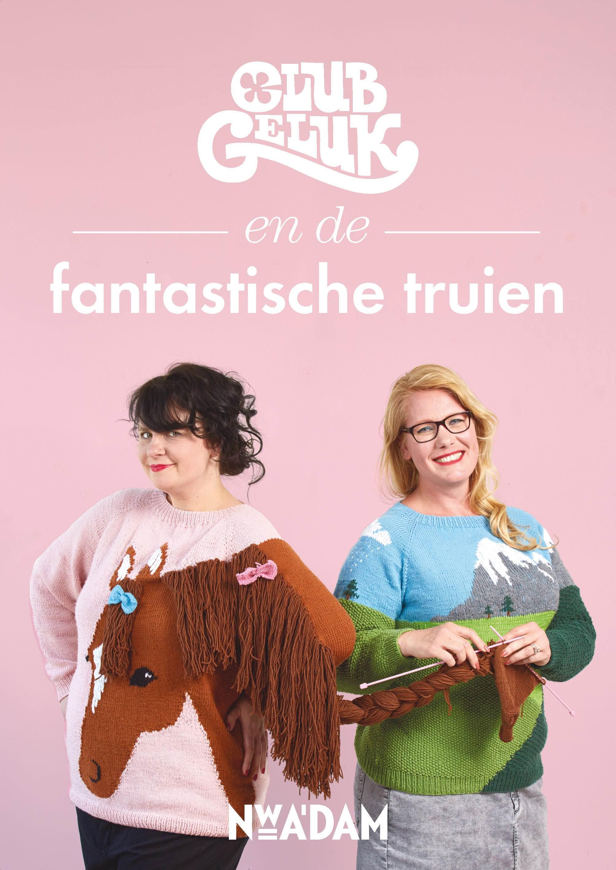 Win! 'Club Geluk en de fantastische truien', een boek met 12 dolle breipatronen