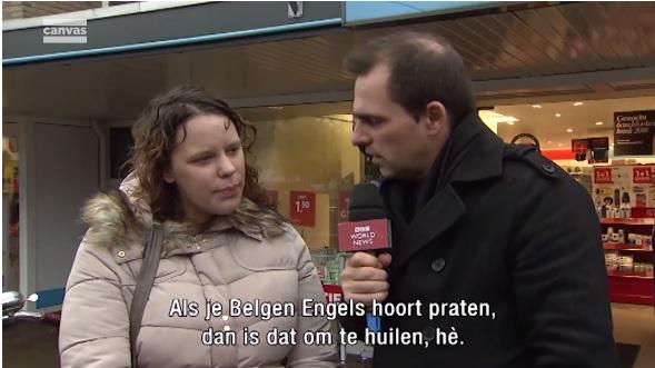 'Make that the cat wise'! Belgische reporter test de Engelse taalvaardigheid van de Nederlanders