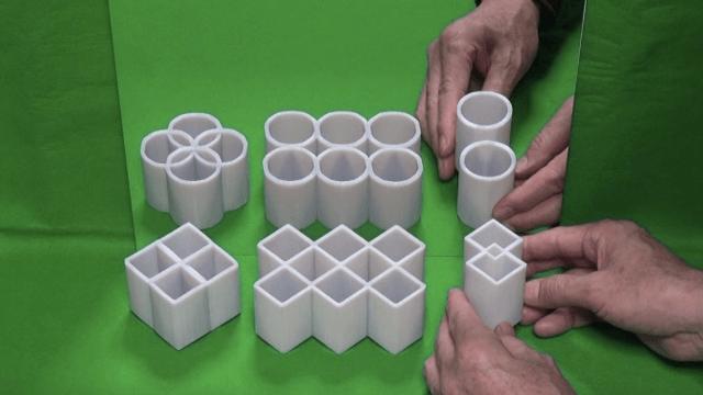 Video: bizar! Deze optische illusie laat je geloven dat vierkanten rond zijn