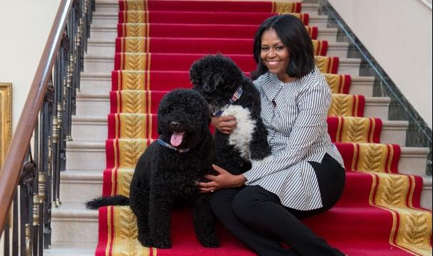 Snif! Michelle Obama neemt afscheid van het Witte Huis