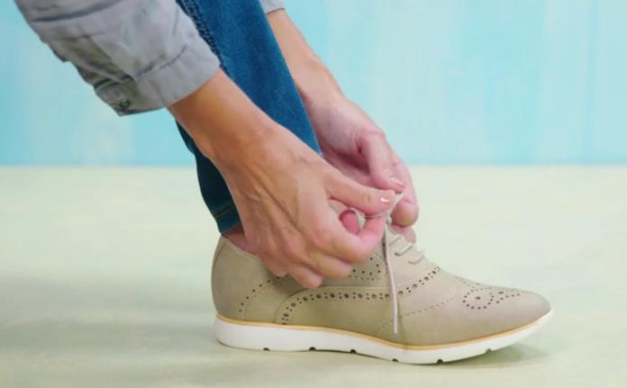 Zien: smeer dít product op je schoenveters en ze gaan minder snel los