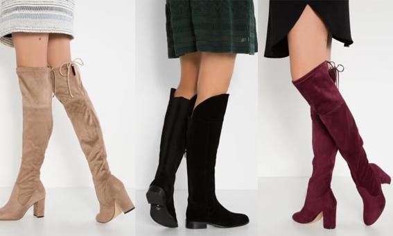 Shoppen: Deze 10 overknee laarzen zijn alles wat je op dit moment nodig hebt!