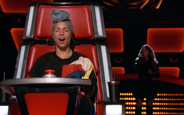 VIDEO: zo reageert Alicia Keys wanneer 'The Voice'-kandidate haar hit zingt
