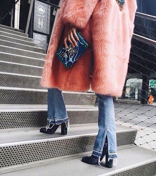Rock the trend: gekleurde bontjassen!