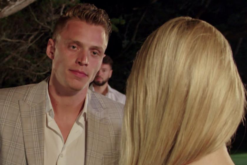 Kasper knapt keihard af op Bachelorette Gaby: 'Hoe kún je me dat nou vragen?'