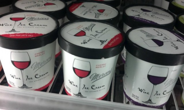 Zalig: er bestaat nu ijs met wijnsmaak