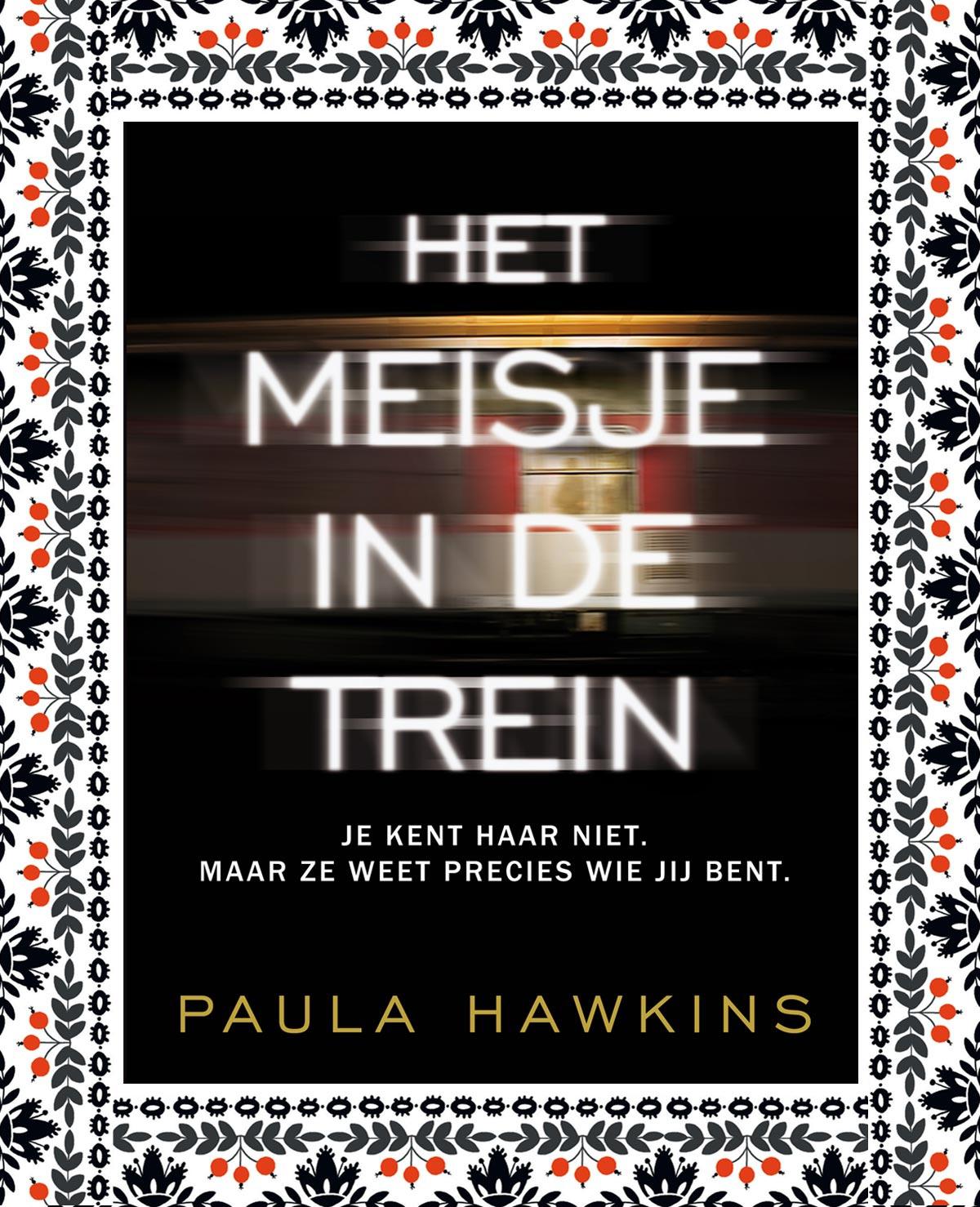 Win: 10x boek Het meisje in de trein