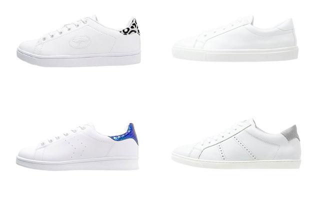 SHOPPEN: 10 paar witte sneakers onder de 50 euro
