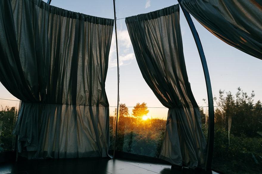 Briljant: deze doorzichtige tent maakt slapen in de buitenlucht comfortabel