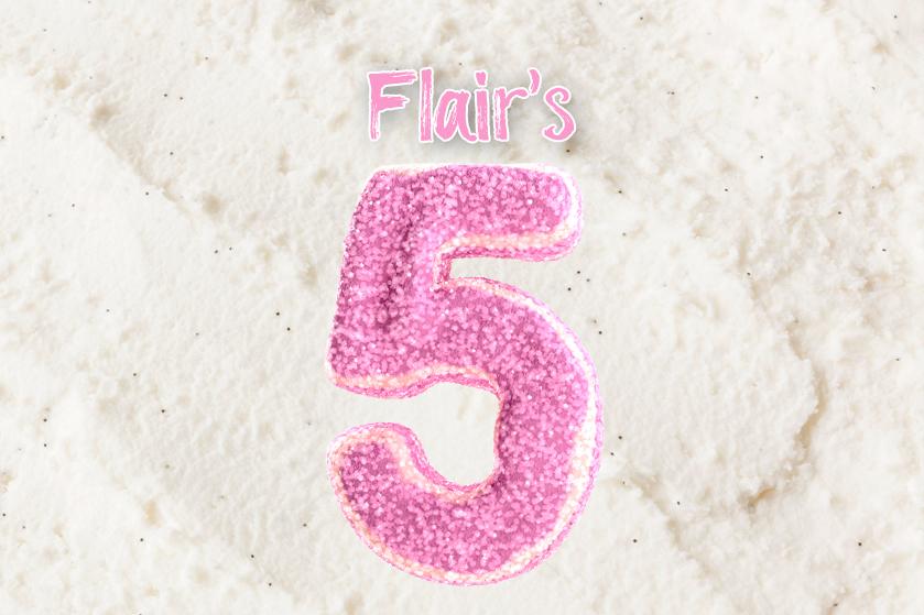 Flairs Vijf: 5x nieuwe producten waarvan je op de hoogte wil zijn