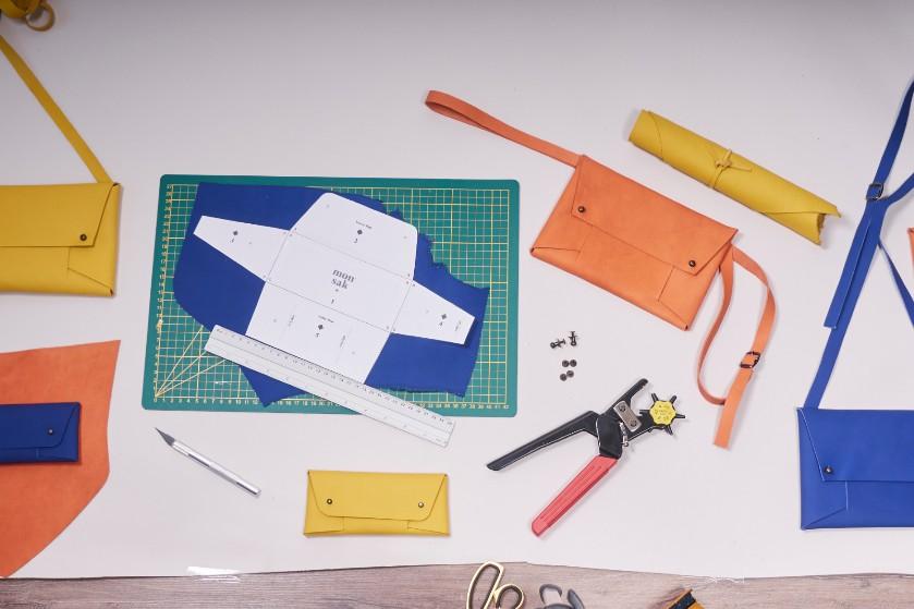 WINNEN: 3x DIY-kit t.w.v. €37 om je eigen Monsak etui te maken