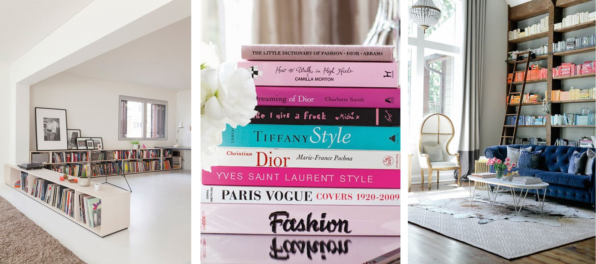 Wooninspiratie: I like big books and I cannot lie
