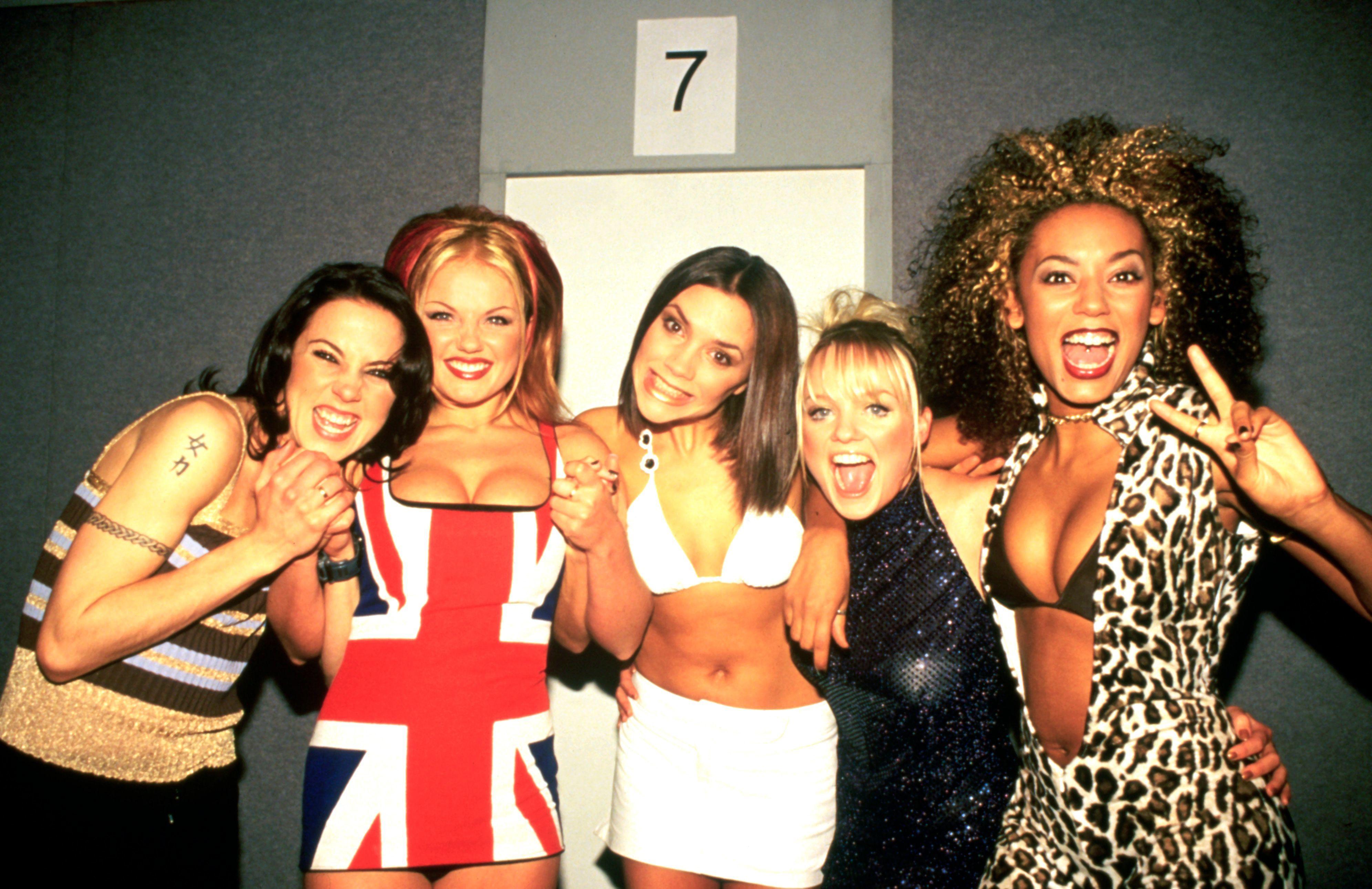 Spice Girls grazia