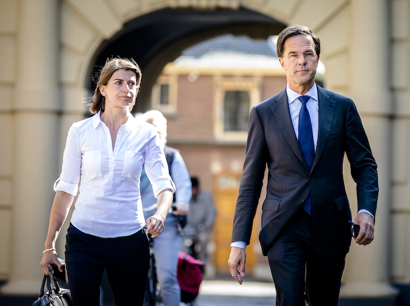 Mark Rutte assistent Caroline Hermans