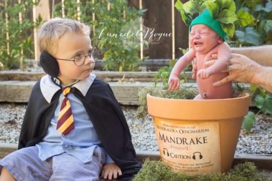 Zien: Deze ongelofelijk schattige Harry Potter fotoshoot doet je smelten