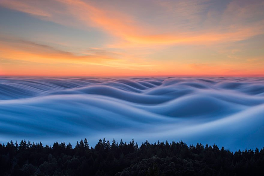 Zien: deze mistige foto's van San Francisco zijn sprookjesachtig mooi!