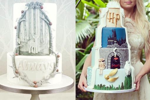 WOW: Dit zijn de mooiste Harry Potter-bruidstaarten!