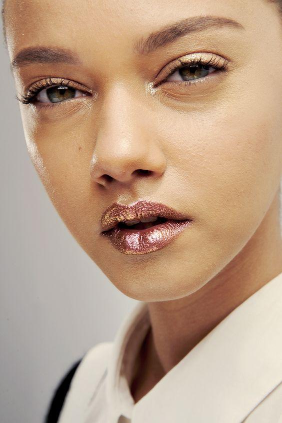 Trend: Metallic lippen