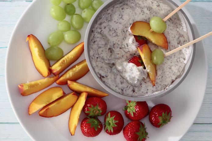 Origineel toetjesidee: yoghurtfondue met fruit