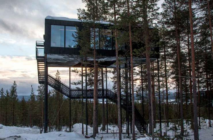 ZIEN: Deze boomhut is het beste hotel ter wereld