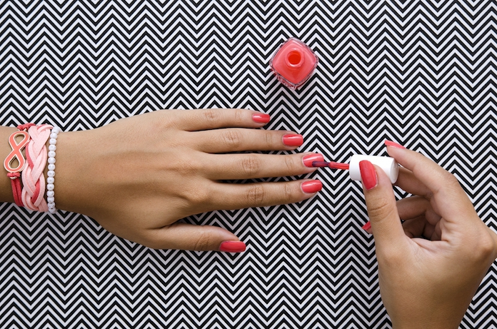 Lifehack: zó krijg je je nagellak snel droog