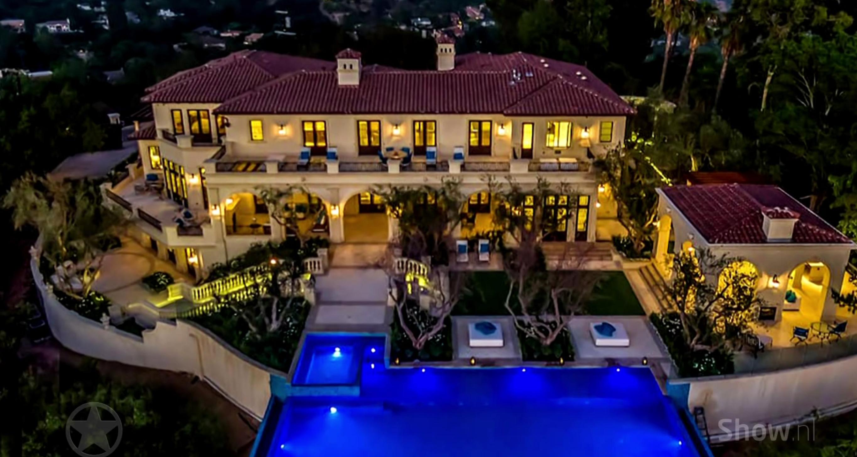 Binnenkijken bij de prachtige villa van Drake in Beverly Hills