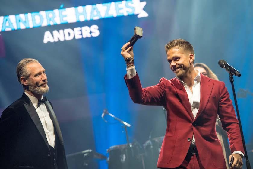 André Hazes eert zijn 'pik', vader en vriend