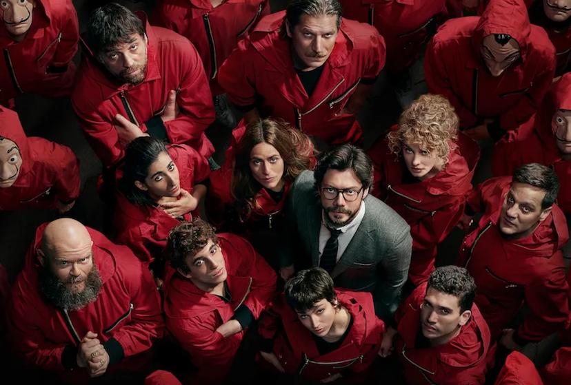 ¿Impaciente? Netflix stilt honger naar állerlaatste seizoen 'La Casa de Papel': eerste beelden van opnames