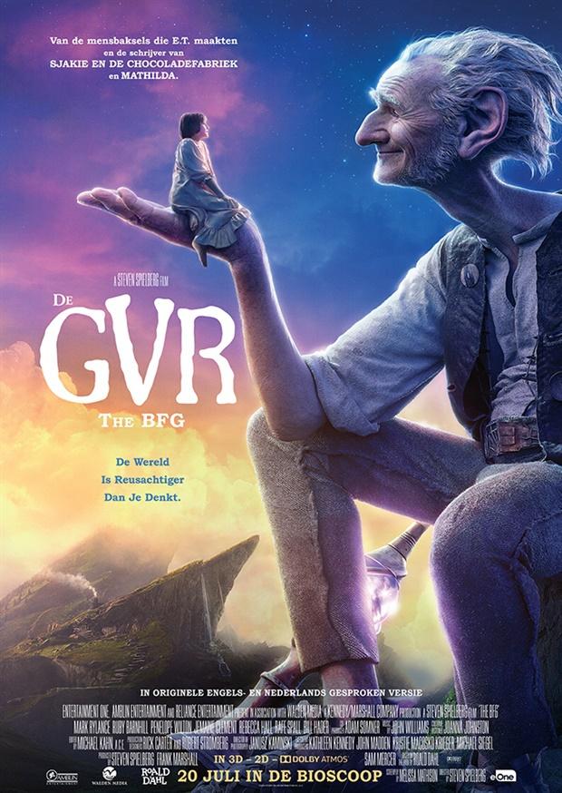 Win: Vrijkaartjes voor de film 'De Grote Vriendelijke Reus'