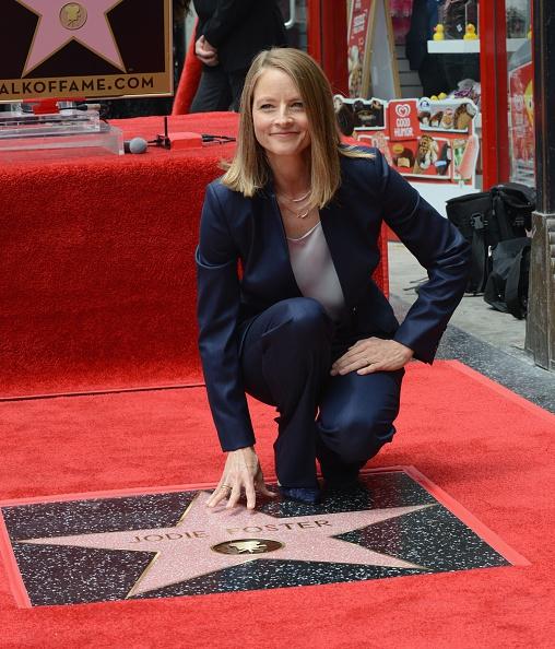 Jodie Foster krijgt ster op Wall of Fame