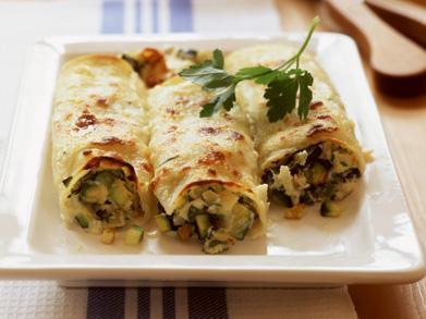 Recept: Vegetarische canneloni met courgette