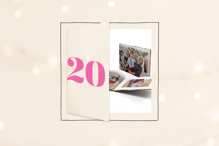 Flair's Adventskalender #20 2020: win 3x een fotoboek van Vistaprint voor ál je herinneringen