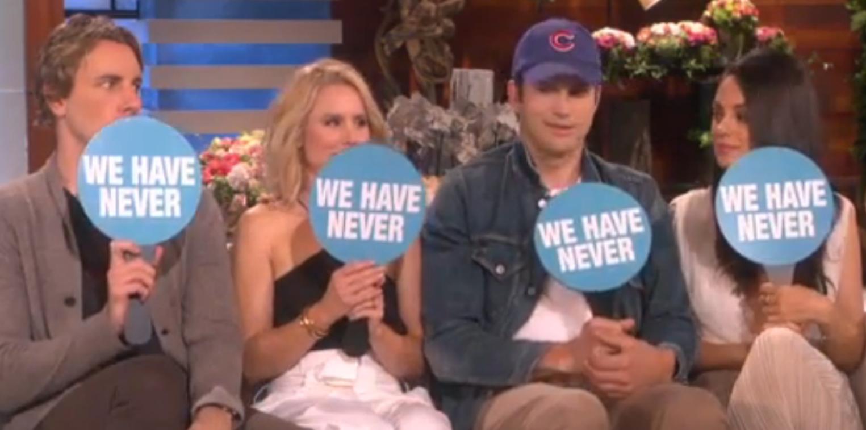 Video: Mila Kunis en Kristen Bell worden door hun hubby's verrast voor moederdag