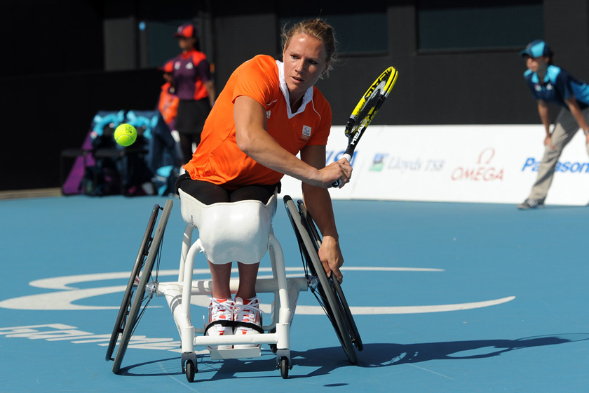 Nieuwe medische klap voor rolstoeltennisser Esther Vergeer: 'Ik heb borstkanker'