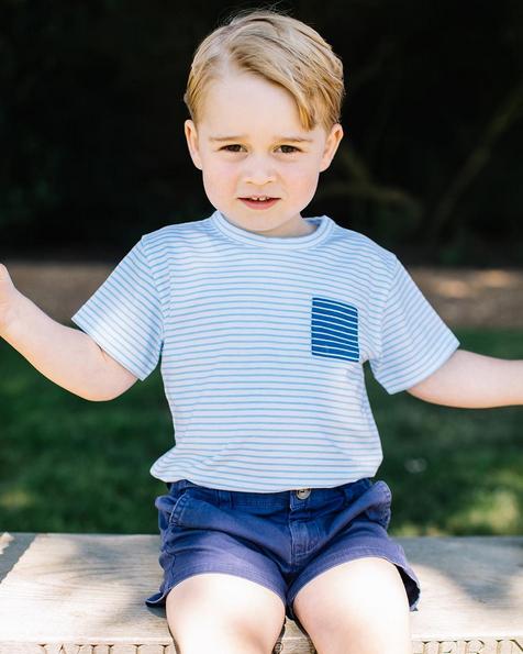 Hiep, hiep, hoera! Prins George 3 jaar!