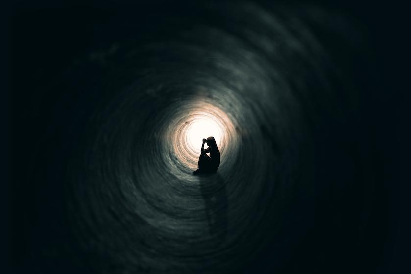 Opgebiecht: 'Ik wil vertrekken en nooit meer gevonden worden'