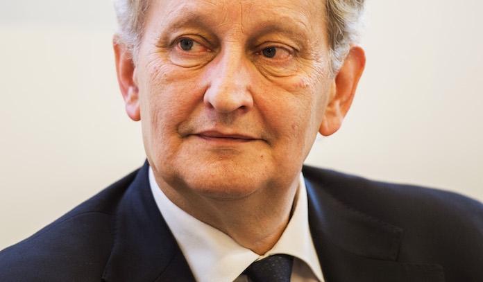 Burgemeester Eberhard van der Laan: 'Ik blijf nog een poosje'